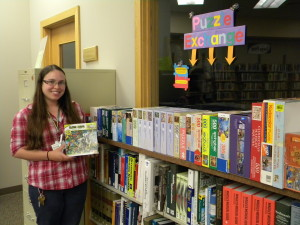 Free puzzle exchange underway at the library