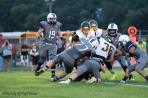 Clinton Cougars soundly defeat East Troy Friday night