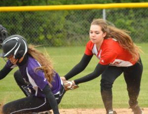 Ladies' season ends with five errors