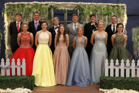 Connor Green and Madelynn McIntyre were named senior prom king and queen.