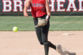 BECKY MALKOW PHOTO The Independent-Register McKenna Young tossed her fifth no-hitter of the season in the June 14 victory against Lancaster.  She also slugged a home run in the game.