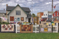 FILE PHOTO The Independent-Register The art of quilting takes center stage Saturday, Sept. 11, as The Sassy Farm Chicks Quilting Co. hosts its annual Airing of the Quilts in downtown Orfordville. Dozens of quilts, new and vintage, will be on display.