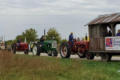 PHOTO SUBMITTED The Independent-Register A line of tractors and wagons goes down the road during the tractor drive/ride held annually to benefit the Alzheimer's and Dementia Alliance of Wisconsin. This year's ride is Sunday, Sept. 26.